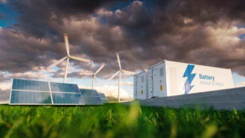Integrating bulk battery storage into the grid