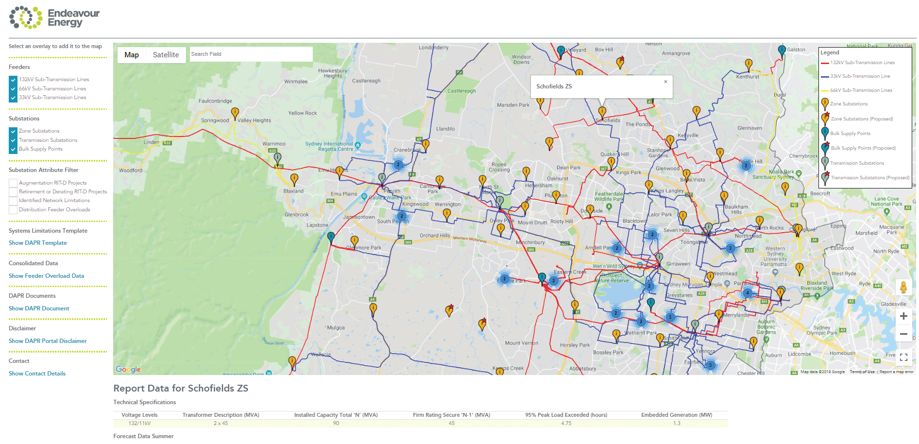 Australian first energy mapping portal
