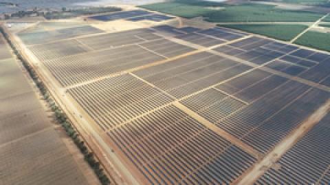 New solar farm hits milestones