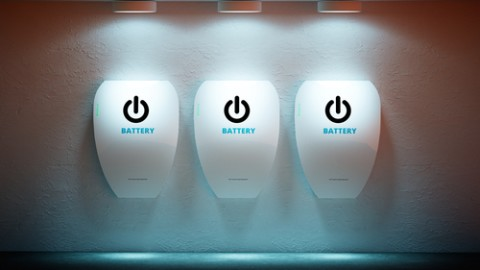 Home battery assembly begins in SA