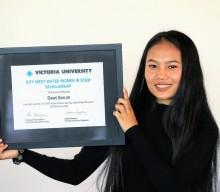 Recipient of new women in STEM scholarship announced