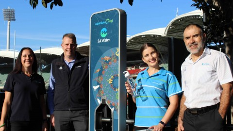 Smart fountains providing free drinking water to SA