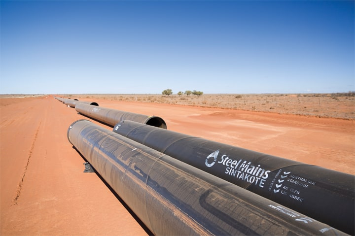 Australian steel facilitates construction of W2BH pipeline