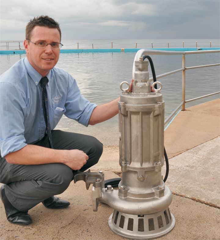 Pumping pools into pristine condition