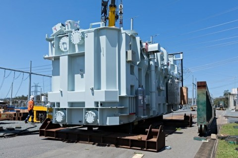 New transformer secures Brisbane's electricity supply