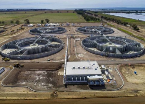 New nutrient removal plant for Melbourne Water