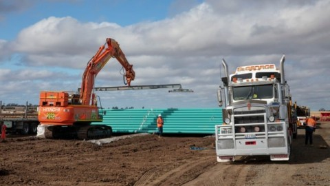 Construction of the Atlas Gas Pipeline Commences