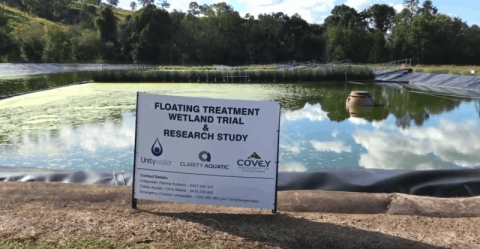 Queensland sewage treatment plant goes green