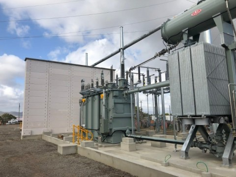 Powerlink completes transformer replacement project