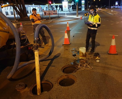 'X' marks the spot for clever pipe fix