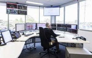 Distribution service provider, United Energy's control centre