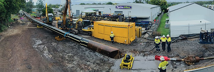 Trenchless technology enables essential sewer upgrade