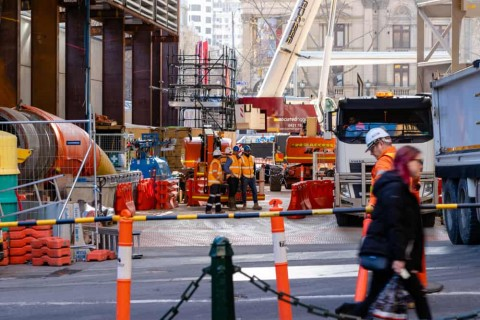 Biggest upgrade to Melbourne CBD's sewer network in more than 120 years