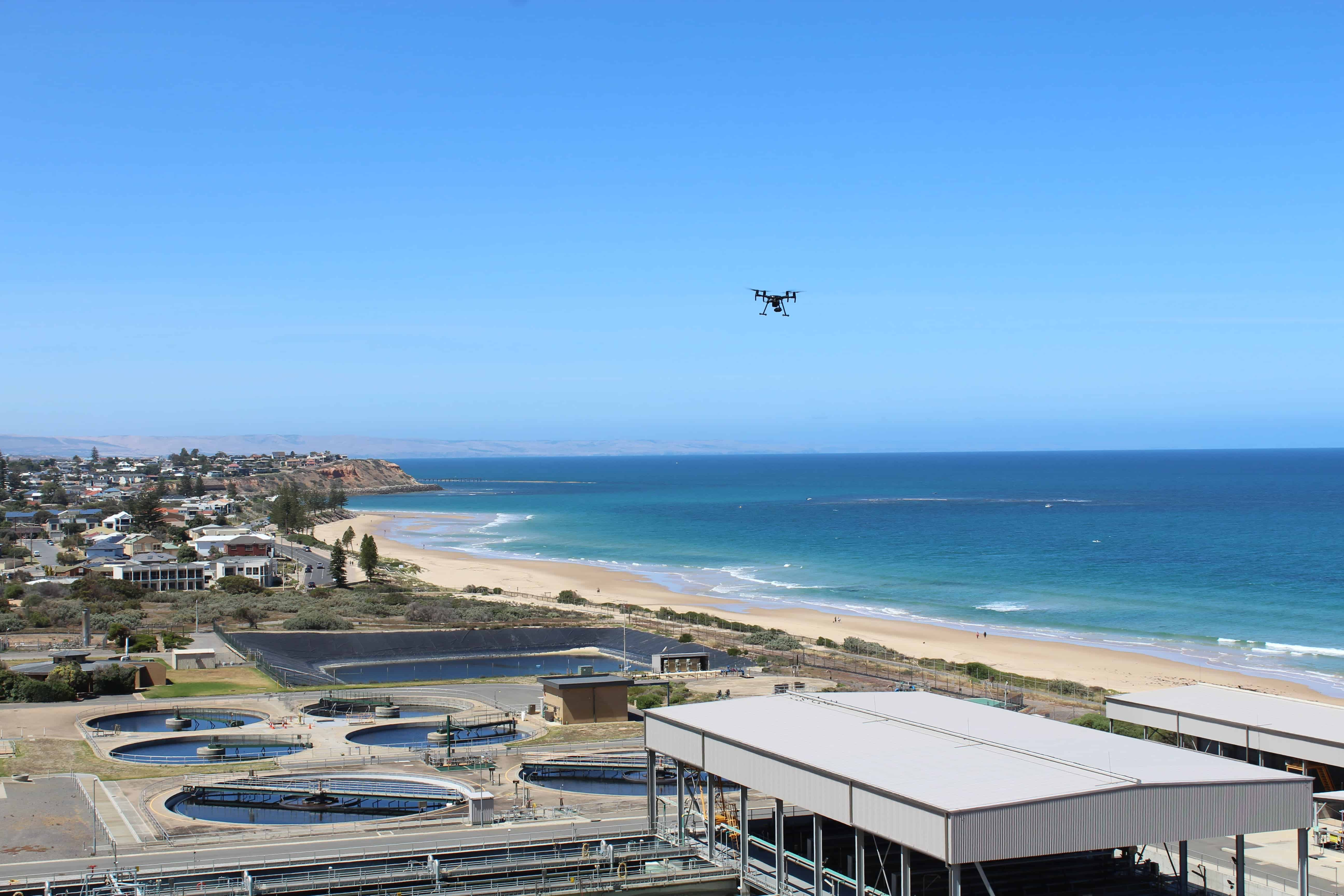 Drones rise above to deliver sky-high safety