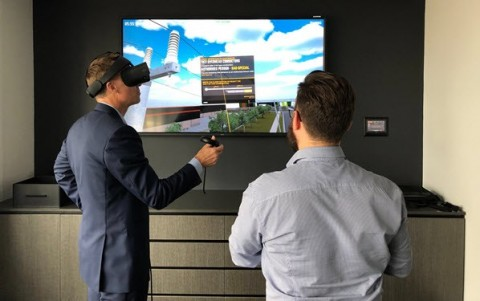 Energy powerhouse turns to virtual reality