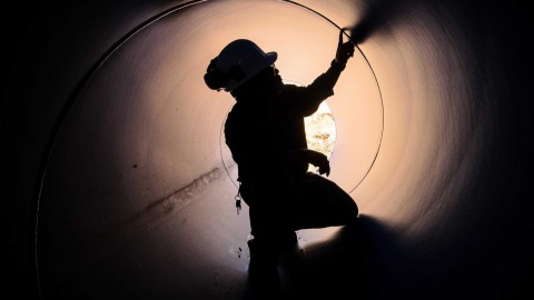 Western Water completes sewer pipeline