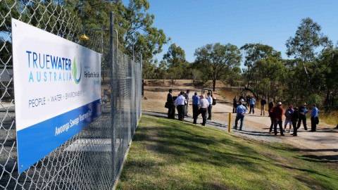 True Water launches new Kubota sewage treatment system at Lake Awoonga