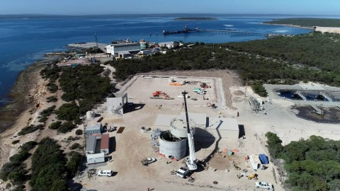 Port Lincoln Wastewater Treatment Plant hits key milestone