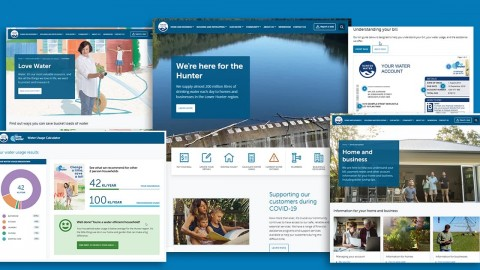 Hunter Water customers benefit from new website