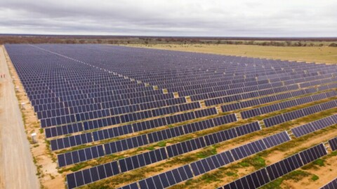 Mega SA pipeline powered by solar