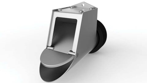 FLUSHER II allows hands-off sewer maintenance