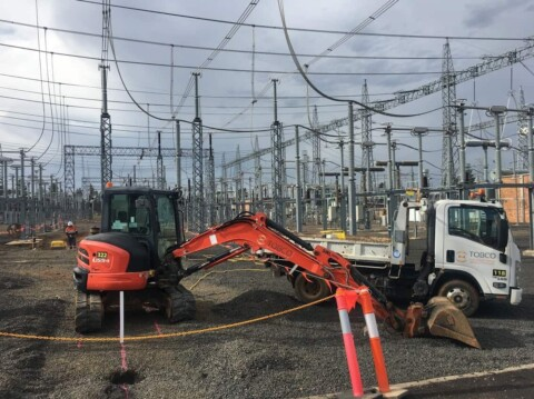 TOBCO powers ahead with Armidale substation works