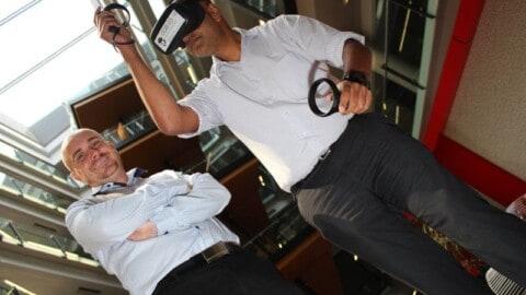 QLD energy trainees utilise VR simulators