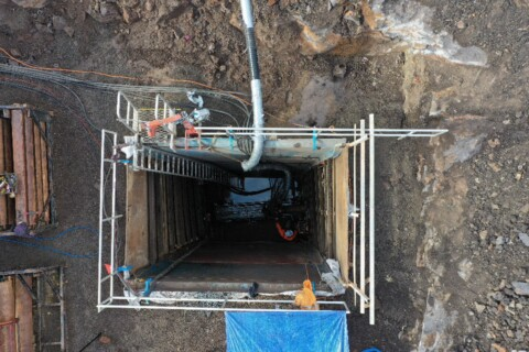 What are the safety benefits of microtunnelling compared to other pipeline installation methods?