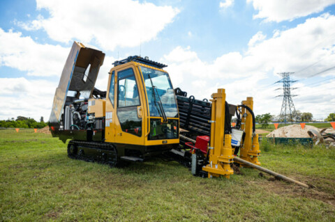 Vermeer's D40X55DR S3 Rock Drill offers Australian drillers speed, simplicity and sound reduction