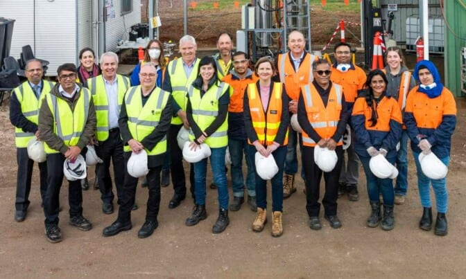 South East Water partners on biosolids project