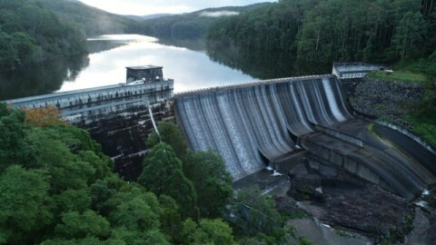 Satellite technology used to monitor dams