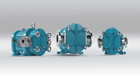 New high-tech rotary lobe pumps