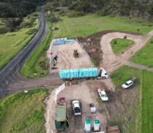 Kangaroo Island desalination plant pipeline underway